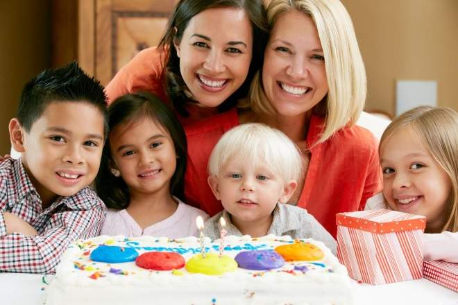 Birthday Cakes with Families