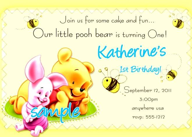 Kids Birthday Party Invitation Card Template