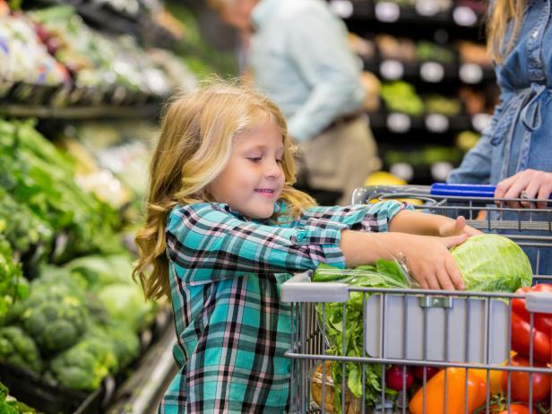 Picky Eaters Pick Up Vegetables
