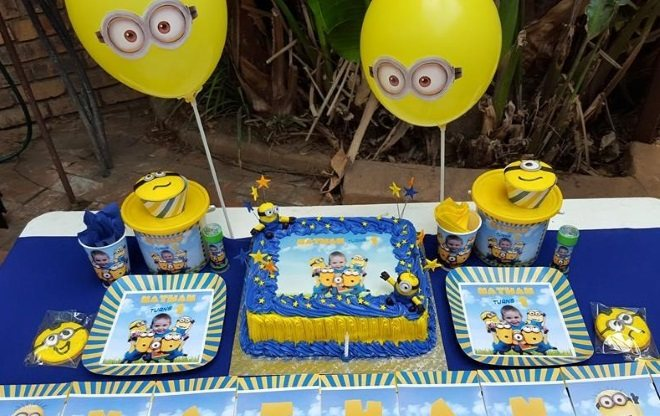 Minions Kids Birthday Party Theme