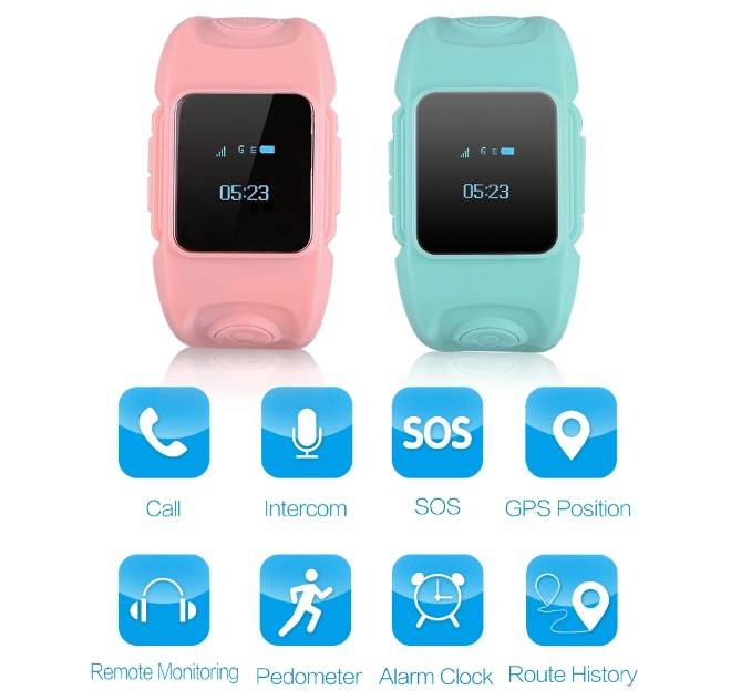 Sleepover Party GPS Track Smart Watch