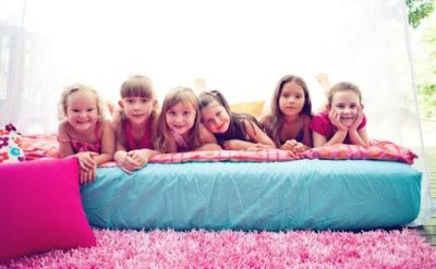 Young Kids Slumber Party
